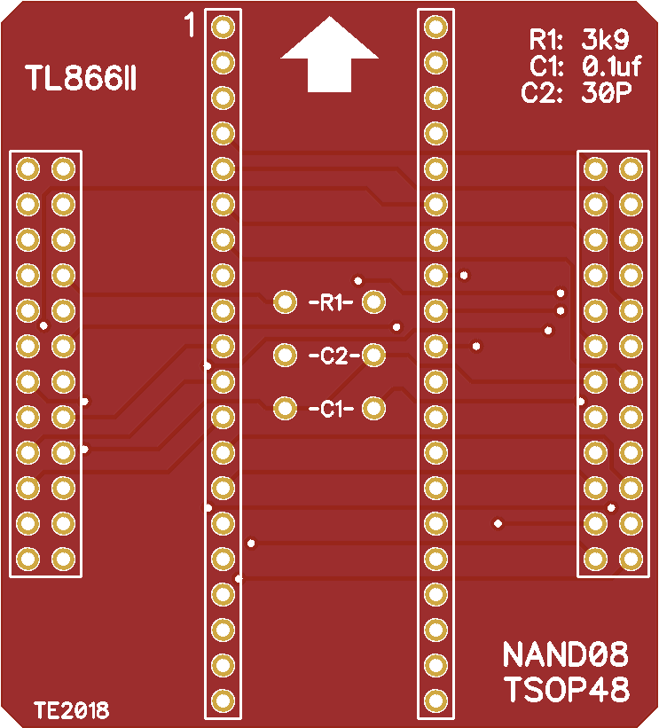 TL866II - NAND08 Adapter - Share Project - PCBWay