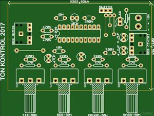LM1036 Tone Control Circuit - Stereo