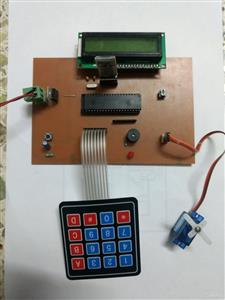 Bluetooth Door Lock using 8051