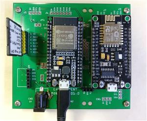 ESP32 Webserver for Home Weather Station