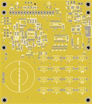 Сканирующий приемник Р-45 - Плата цифры 4.0 - (R-45, R45, Р45)