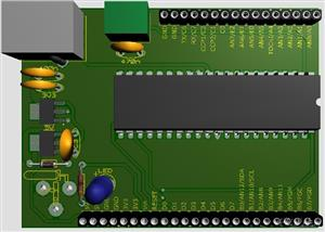 18F4550 Development Board