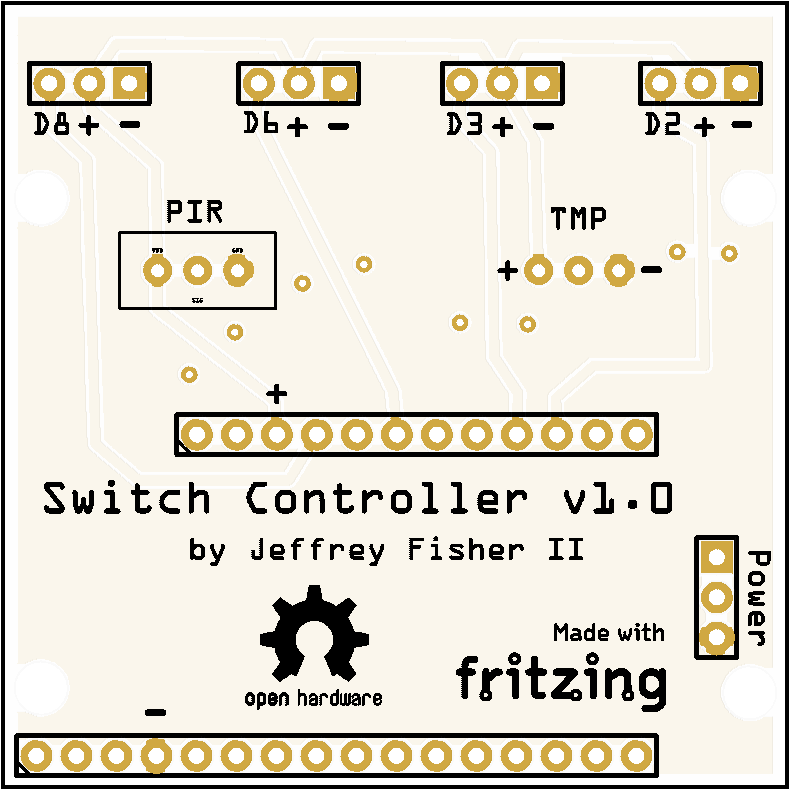 4 Servo Light Switch Controller Board - Share Project - PCBWay