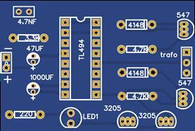 inversor com tl494 300W