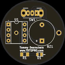Circuit Beeper (Circuit simple idéal pour apprentissage)