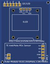 Kube Multisensor - OLED & Ambimate MS4 Submodule Board