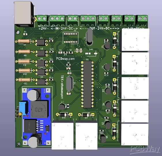 Make own Programmable Logic Controller - Sponsor - PCBWay