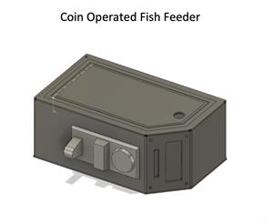 Coin Operated Fish Feeder