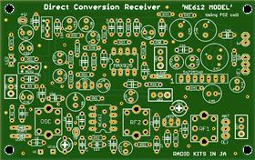 NE612 direct conversion recevier fof HF