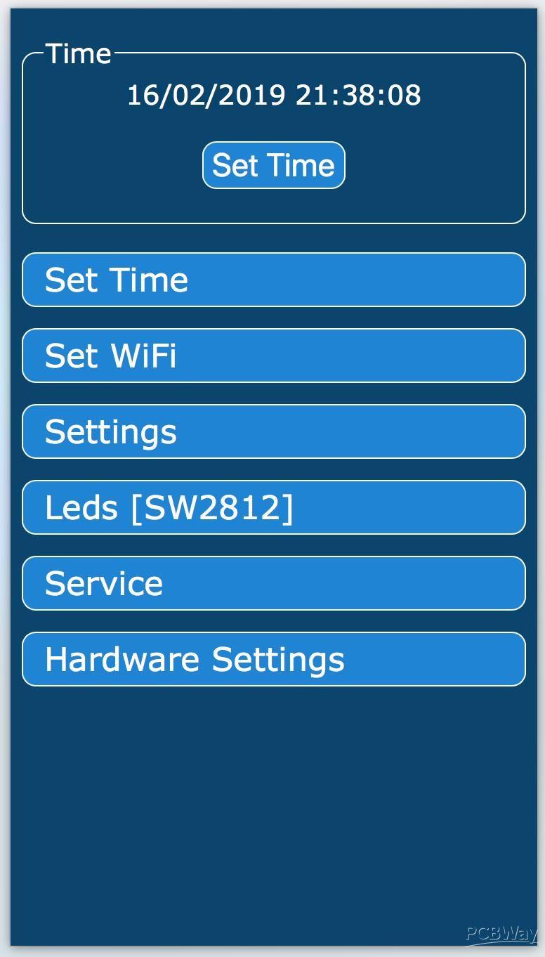 Nixie Clock IN-12 & ESP12(ESP8266) WiFi - Share Project - PCBWay