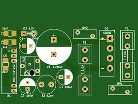 C64 PSU-902503-06 Austauschplatine 0.2.1