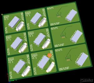 PANEL HAND-ON SOLDER BOARD