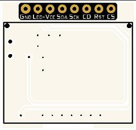 JLX12864G-185 LCD Board