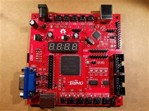 """The Thing"": FPGA + STM32, Multicomp compatible"
