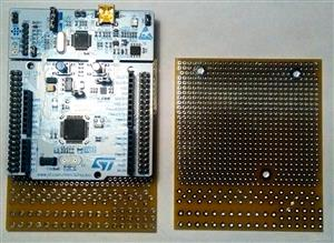 Prototyping Board for the STM32NUCLEO