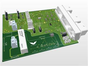Body Control Module PCB - MAC Formula Electric