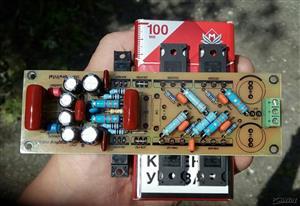 Audio Amplifier LANZAR 2 pair \ Аудио усилитель мощности звука ЛАНЗАР 2 пары