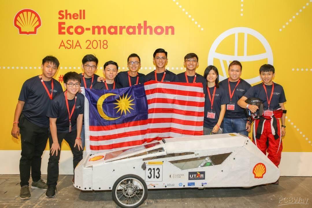 Genesis UTAR Shell Eco Marathon Asia 2019