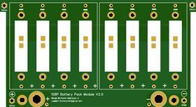 1S8P Modular Powerwall Board