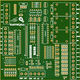 Modulo de entradas y salidas para arduino nano