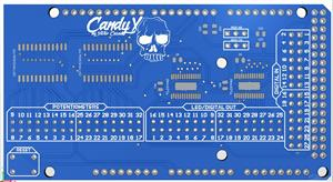 CandX MIDI Shield for Arduino MEGA/DUE
