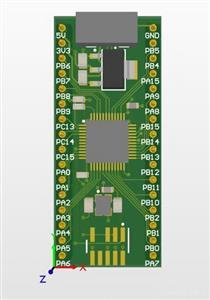 STM32F103 Breadboard