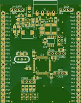 STM32F030RC development board