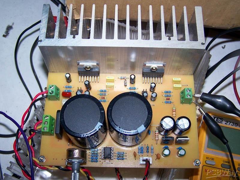 Amplifier audio <b>TDA7294</b> AMP MULTI ~ 100-200W (stereo or bridge ...