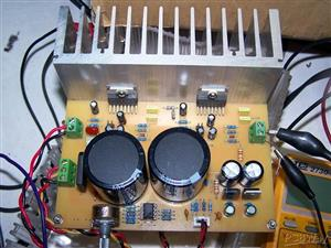 Amplifier audio TDA7294 AMP MULTI ~ 100-200W (stereo or bridge)  \ Усилитель мощности звука
