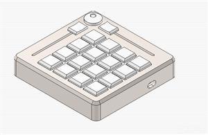 Macro Keypad (Kailh Choc Low Profile)