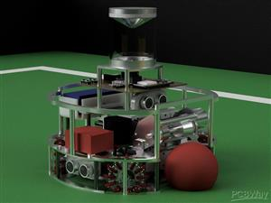 InfraReady Robotics - RoboCup Junior Open Soccer