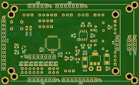 Темброблок - анализатор спектра на STM32F103