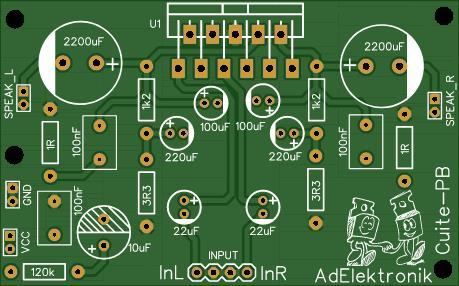 Tda2004 amplifier - Amplificador com tda2004