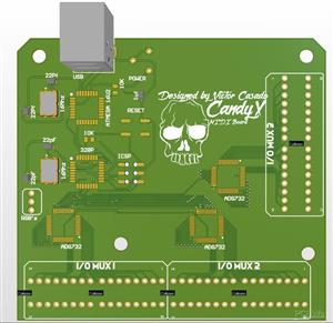 CandyX MIDI Open Source Board