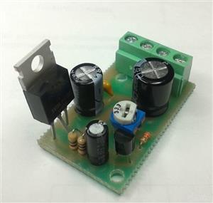 Adjustable voltage regulator 3-32V 20A \ Регулируемый стабилизатор напряжения
