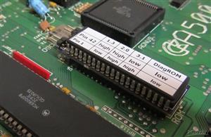 Amiga 27C160 Kickswitch