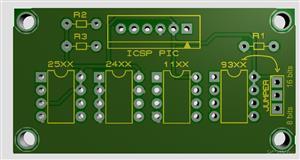 socket's para memorias EEPROM I CAN SOLDER