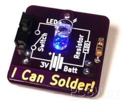 I Can Solder Badge