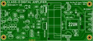 CLASS-D AMPLIFIER VERY GOOD SOUND