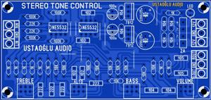 NE5532 STEREO TONE CONTROL