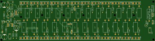 24 mosfet transistors power amplifier