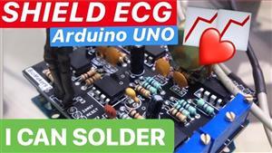 Arduino Electrocardiogram Shield