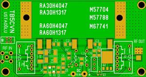 HYBRID RF TRANSCEIVER AMPLIFIER MODULE
