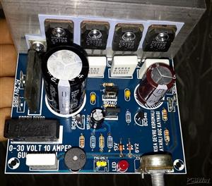 ADJUSTABLE POWER SUPPLY SHORT CIRCUIT PROTECTION