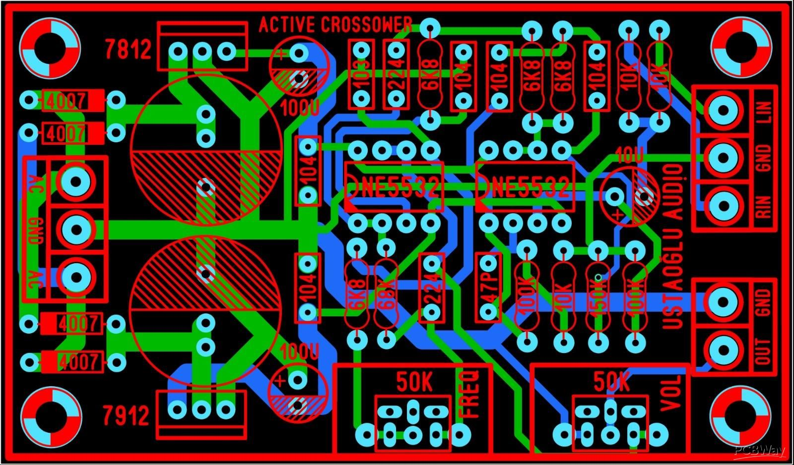 CROSSOVER NE5532 - Share Project - PCBWay