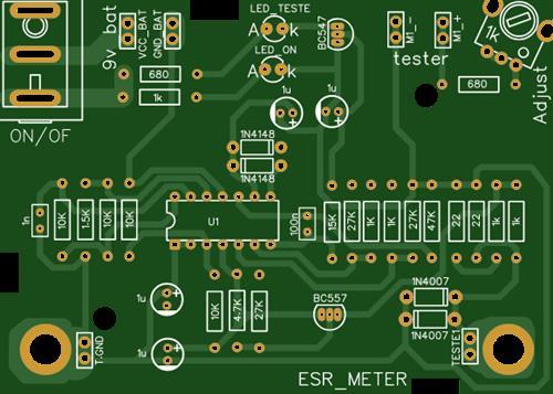 ESR Meter Ic Tl084