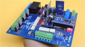 "CONTROL BOARD FOR HIGHLY ISOLATED INDUSTRIES WITH RTC MODULE V1.1 ""PLC""