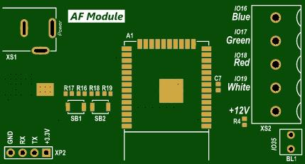 4 Line PWM LED Controller