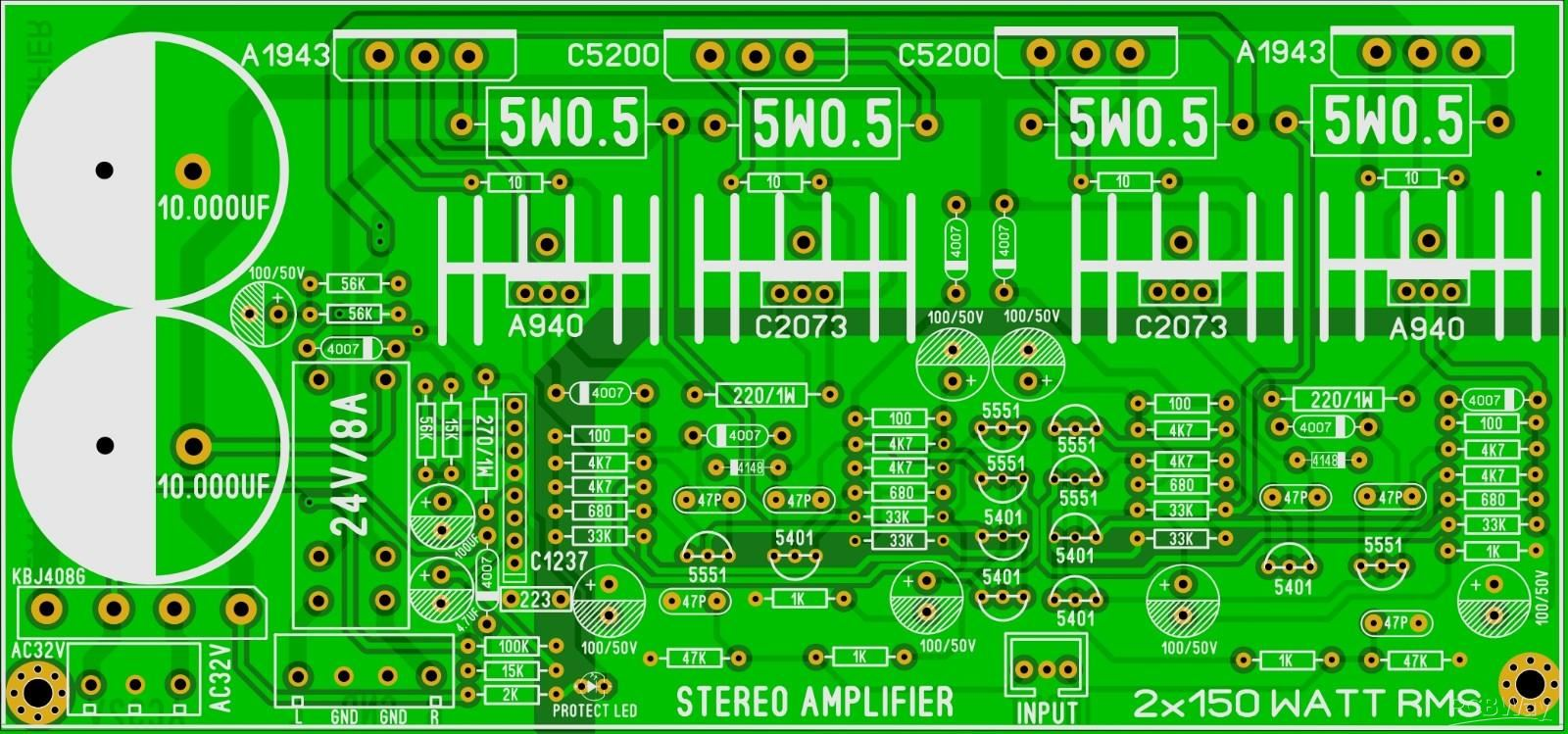STEREO AMPLIFIER KIT - Share Project - PCBWay