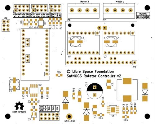 SatNOGS Rotator Controller v2.2